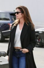 CINDY CRAWFORD Heading to Hair Salon in Beverly Hills 01/08/2019