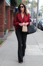CINDY CRAWFORD Leaves a Doctors Office in Beverly Hills 01/29/2019