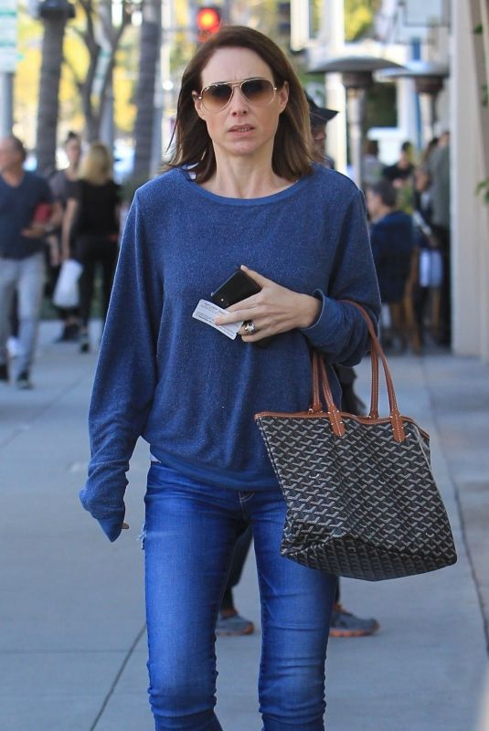 CLAIRE FORLANI Out and About in Beverly Hills 01/25/2019