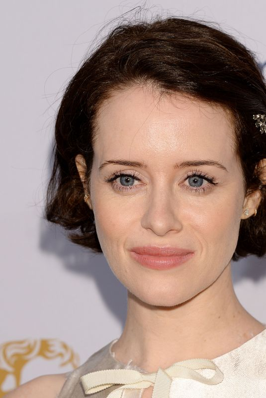 CLAIRE FOY at Bafta Tea Party in Los Angeles 01/05/2019