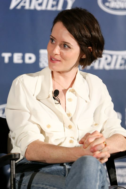 CLAIRE FOY at First Man Variety Screening Series in Los Angeles 01/09/2019