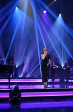 CLAIRE RICHARDS Performs at Graham Norton Show in London 01/24/2019