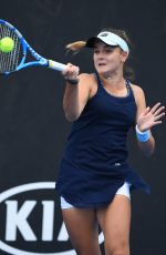 CLARA BUREL at 2019 Australian Open at Melbourne Park 01/14/2019
