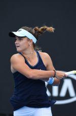 CLARA BUREL at 2019 Australian Open at Melbourne Park 01/16/2019