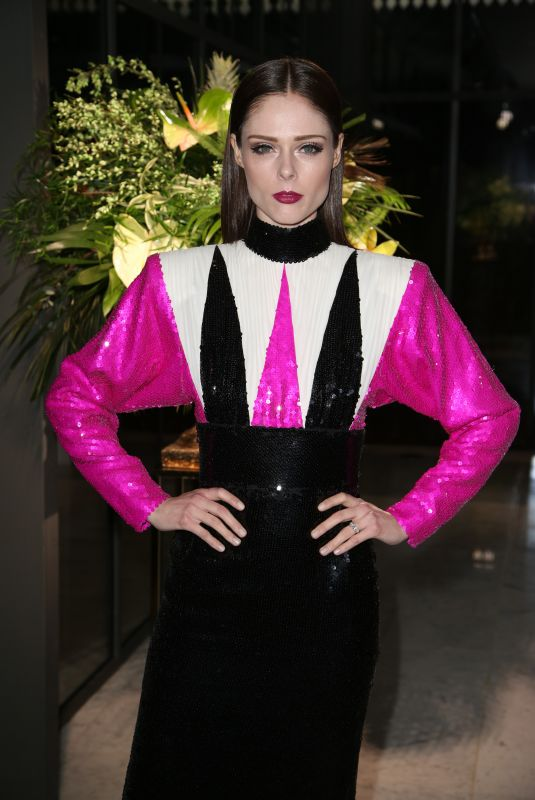 COCO ROCHA at Diner de la Mode at Paris Fashion Week 01/24/2019