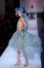 COCO ROCHA at Jean-paul Gaultier Runway Show at Paris Fashion Week 01/23/2019