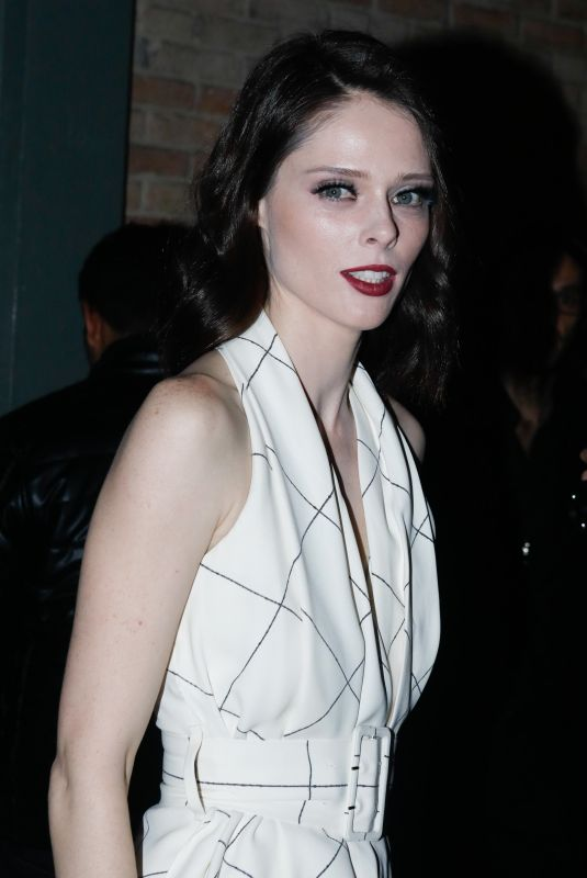 COCO ROCHA at Ralph & Russo Show at Paris Fashion Week 01/21/2019