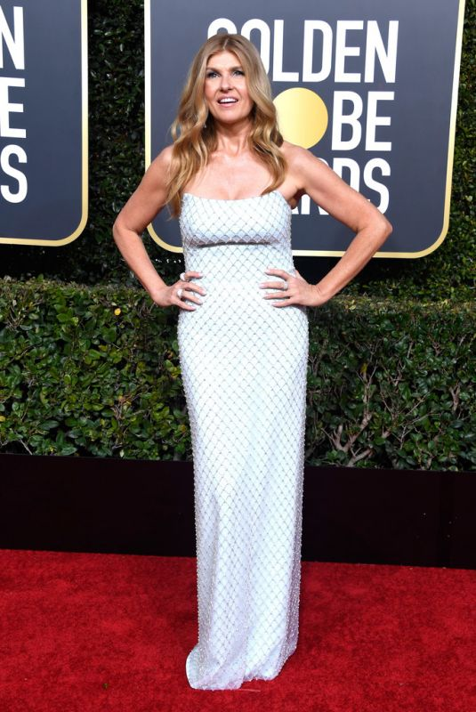 CONNIE BRITTON at 2019 Golden Globe Awards in Beverly Hills 01/06/2019