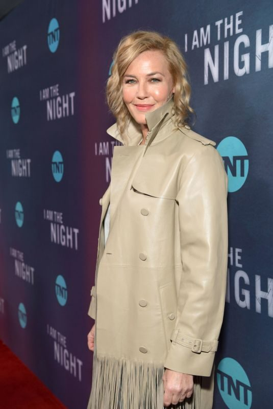 CONNIE NIELSEN at I Am the Night Premiere in Los Angeles 01/24/2019