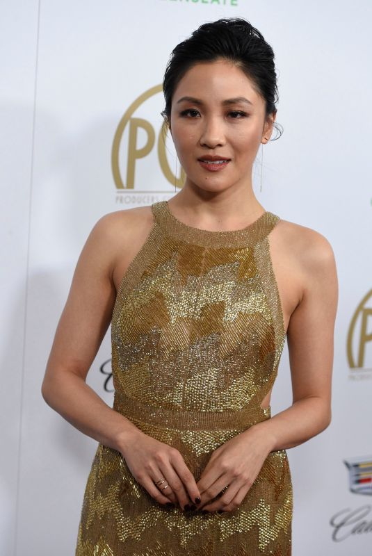 CONSTANCE WU at 2019 Producers Guild Awards in Beverly Hills 01/19/2019
