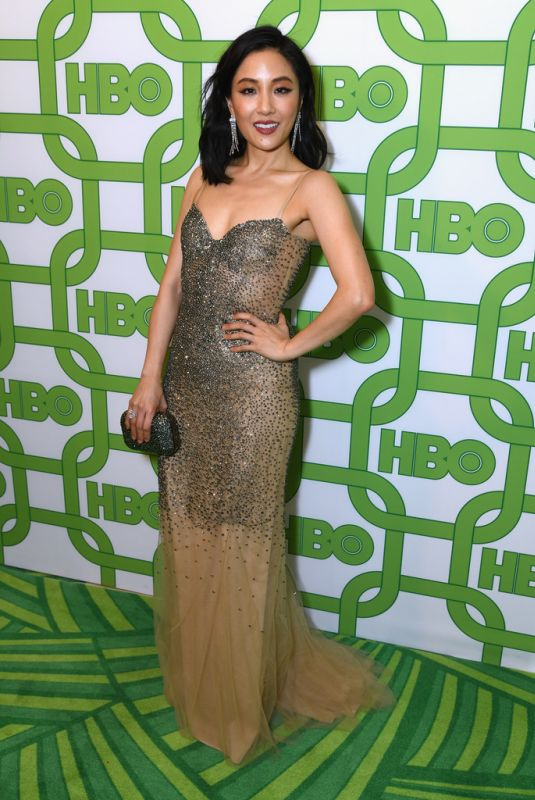 CONSTANCE WU at HBO Golden Globe Awards Afterparty in Beverly Hills 01/06/2019