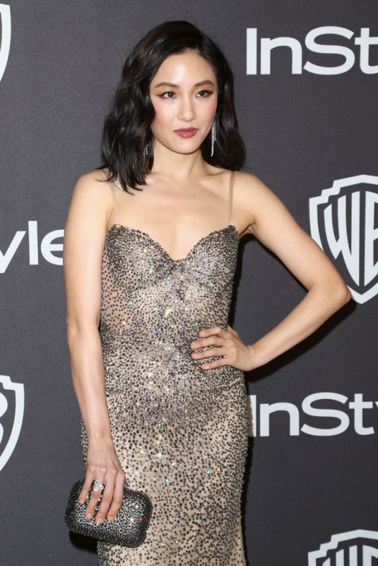 CONSTANCE WU at Instyle and Warner Bros Golden Globe Awards Afterparty in Beverly Hills 01/06/2019