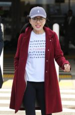CONSTANCE WU at Los Angeles International Airport 01/09/2019
