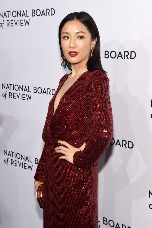 CONSTANCE WU at National Board of Review Awards Gala in New York 01/08/2019