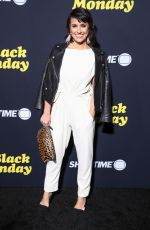CONSTANCE ZIMMER at Black Monday Premiere in Los Angeles 01/14/2019