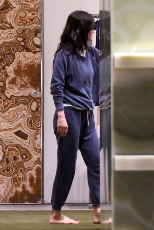 COURTENEY COX at Celine in Los Angeles 01/10/2019