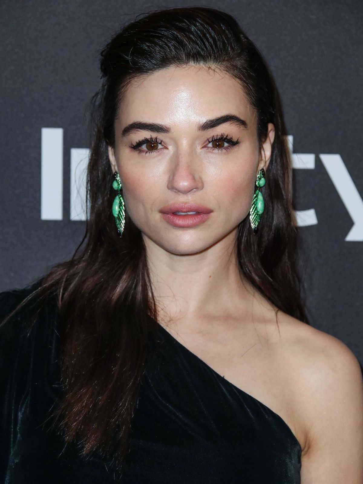 CRYSTAL REED at Instyle and Warner Bros Golden Globe