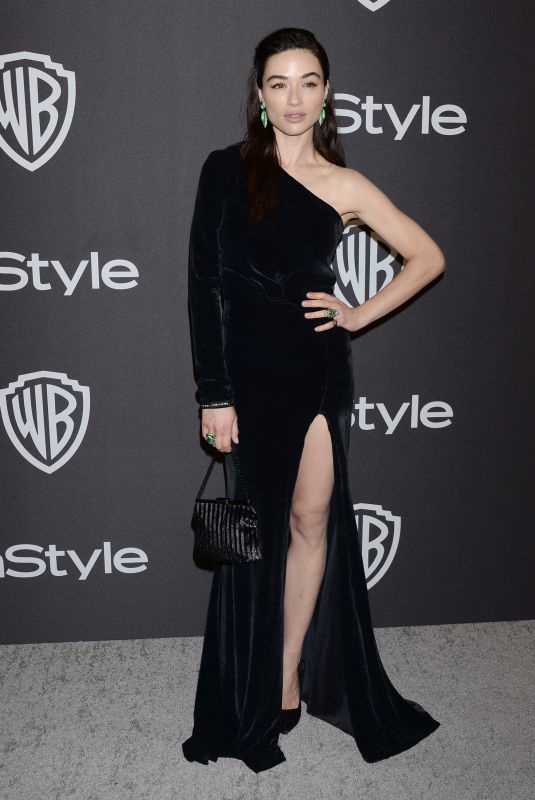 CRYSTAL REED at Instyle and Warner Bros Golden Globe Awards Afterparty in Beverly Hills 01/06/2019