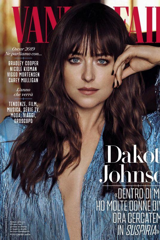 DAKOTA JOHNSON in Vanity Fair Magazine, Italy January 2019