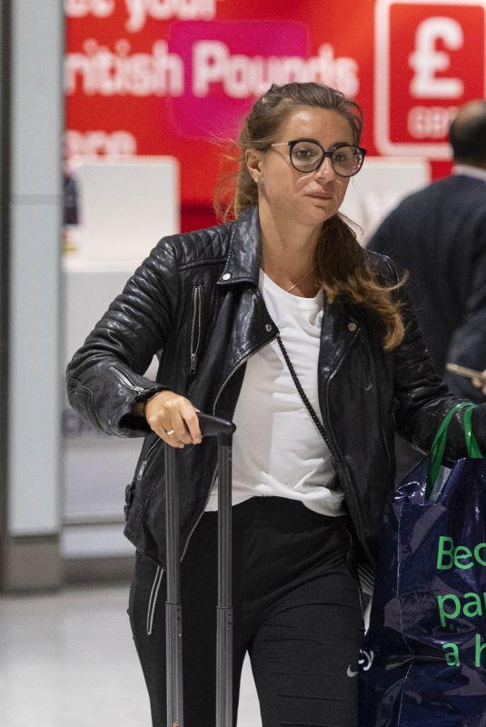 DANI DYER at Heathrow Airport in London 01/06/2019