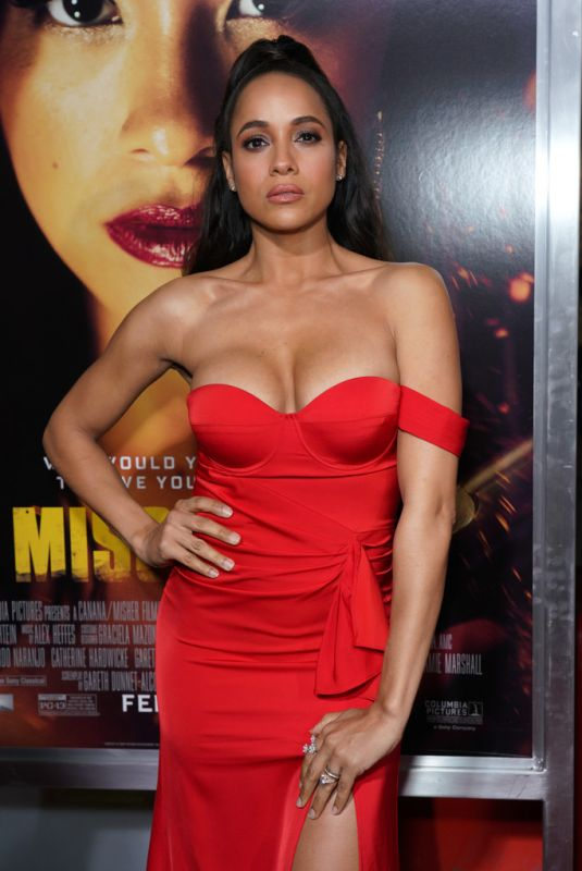 DANIA RAMIREZ at Miss Bala Premiere in Los Angeles 01/30/2019