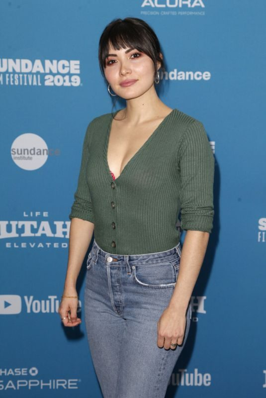 DANIELLA PINEDA at The Death of Dick Long Premiere at Sundance Film Festival 01/26/2019