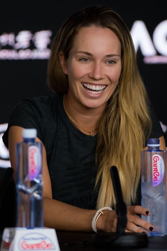 DANIELLE COLLINS at 2019 Australian Open Press Conference at Melbourne Park 01/20/2019