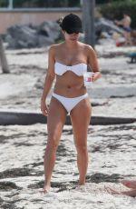 DANIELLE LOMBARD and JESSICA CRIBON in Bikinis at a Beach in Cancun 01/02/2019