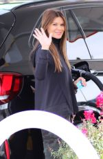 DANIELLE VASINOVA at a Gas Station in Studio City 01/20/2019