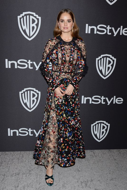DEBBY RYAN at Instyle and Warner Bros Golden Globe Awards Afterparty in Beverly Hills 01/06/2019