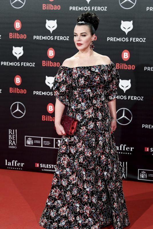 DEBI MAZAR at Feroz Awards 2019 in Bilbao 01/19/2019