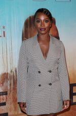 DEBORAH AYORINDE at True Detective Season 3 Premiere in Los Angeles 01/10/2019