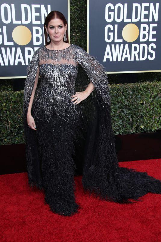 DEBRA MESSING at 2019 Golden Globe Awards in Beverly Hills 01/06/2019