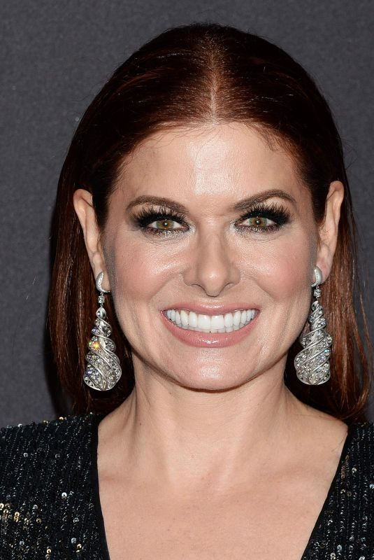 DEBRA MESSING at Instyle and Warner Bros Golden Globe Awards Afterparty in Beverly Hills 01/06/2019