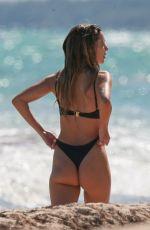 DELILAH HAMLIN in Bikini at a Beach in Tulum 01/11/2019