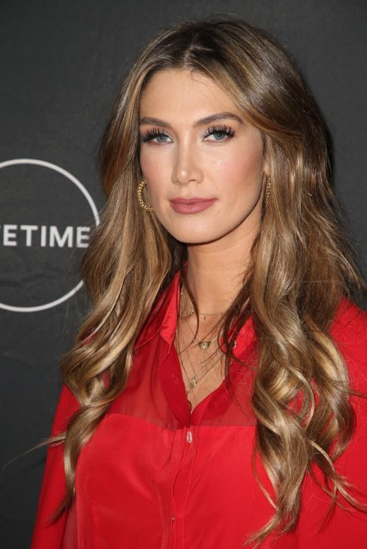 DELTA GOODREM at Lifetime Winter Movies Mixer in Los Angeles 01/11/2017