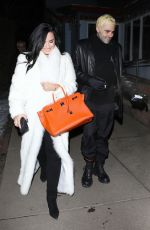 DEMI LOVATO and Henri Levy out for Dinner in Aspen 01/02/2019
