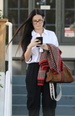 DEMI MOORE Out and About in Los Angeles 01/25/2019