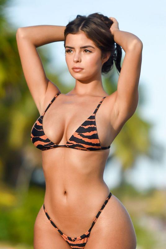 DEMI ROSE MAWBY in Bikini on the Set of a Photoshoot in Tulum 01/10/2019