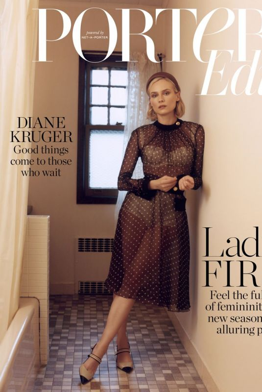 DIANE KRUGER in Tthe Edit by Net-a-porter, January 2019