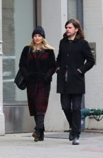 DIANNA AGRON and Winston Marshall Out in New York 01/09/2019