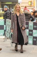 DIANNA AGRON Arrives at AOL Build in New York 01/15/2019