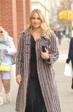 DIANNA AGRON Out and About in New york 01/15/2019