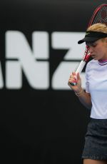 DONNA VEKIC at 2019 Australian Open at Melbourne Park 01/16/2019