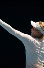 DONNA VEKIC at 2019 Australian Open Practice Session at Melbourne Park 01/13/2019