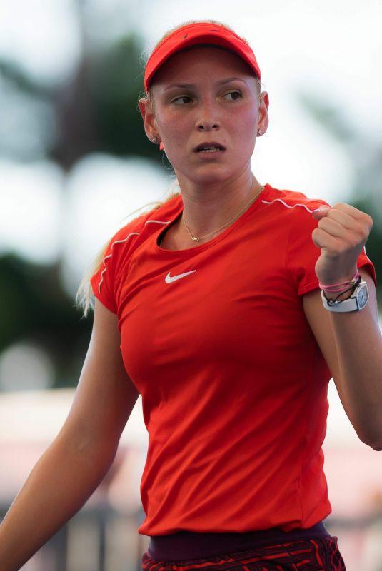 DONNA VEKIC at Brisbane International Tennis 01/02/2019
