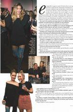 DOUTZEN KROES in Hola Fashion Magazine, Spain January 2019