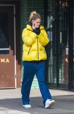 DOUTZEN KROES Out adn About in New York 01/25/2019