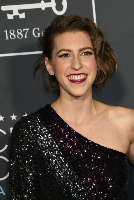 EDEN SHER at 2019 Critics' Choice Awards in Santa Monica 01/13/2019