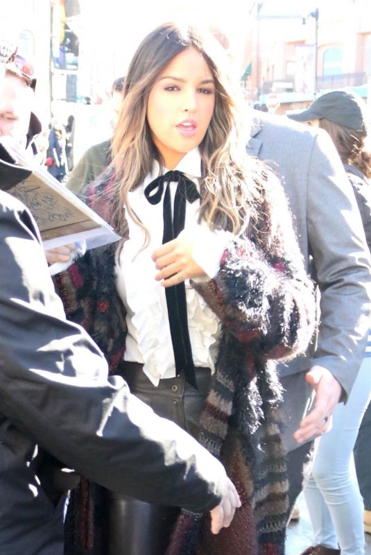 EIZA GONZALEZ Out at Sundance Film Festival in Park City 01/26/2019
